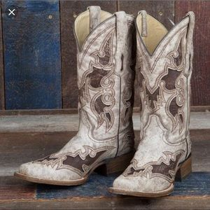 Corral Boots A2978 Brown Cowgirl Boots 7.5